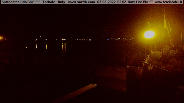 Nago-Torbole webcam - Surfcenter Lido Blu webcam, Trentino-Sudtirol, Trento